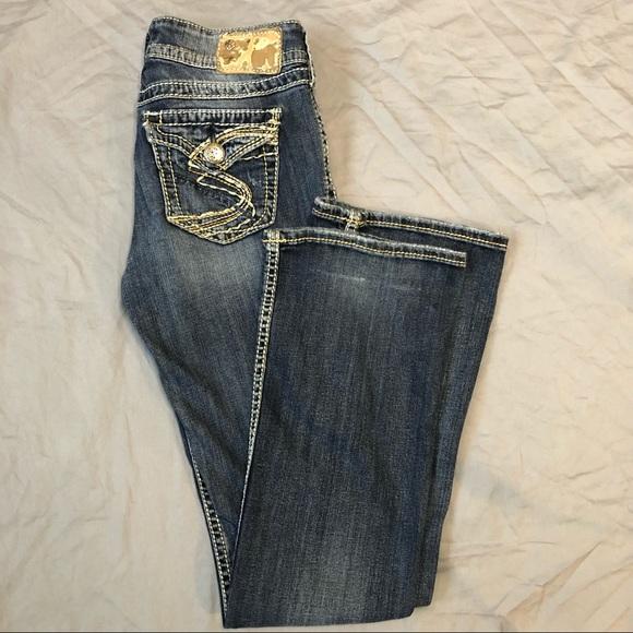 Silver Suki Surplus bootcut flare jeans size 26